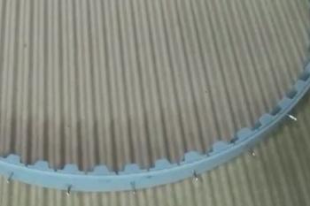Полиуретановый ремень со стержнем