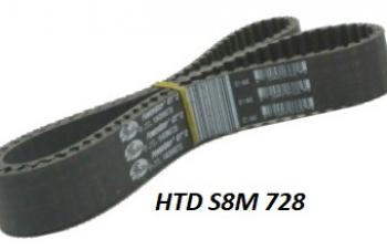 HTD 8M 728
