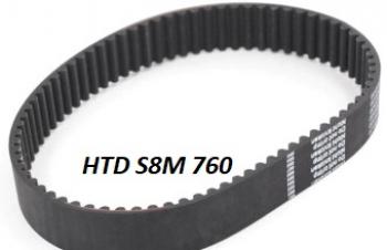 HTD 8M 760