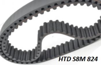 HTD 8M 824