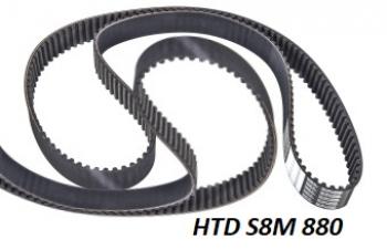 HTD 8M 880