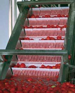 пласиковая модульная лента для подъёмного конвейера
